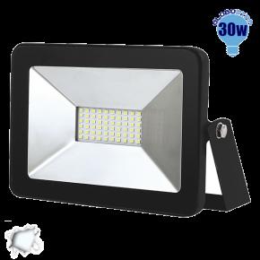 Προβολέας LED Slim Pad Globostar 30 Watt 230v Ψυχρό