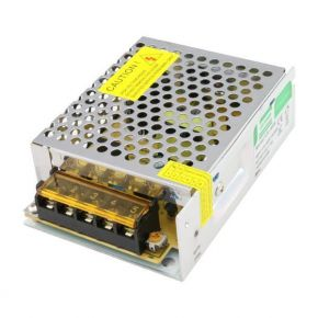 Eurolamp LED Τροφοδοτικό Μεταλλικό 60W 12V DC