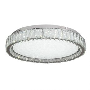 InLight Πλαφονιέρα οροφής από χρώμιο μέταλλο και κρύσταλλα (42013-Α)