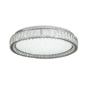 InLight Πλαφονιέρα οροφής από χρώμιο μέταλλο και κρύσταλλα (42013-Β)