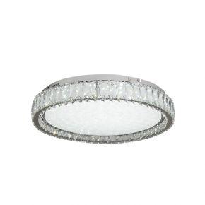 InLight Πλαφονιέρα οροφής από χρώμιο μέταλλο και κρύσταλλα (42013-Γ)