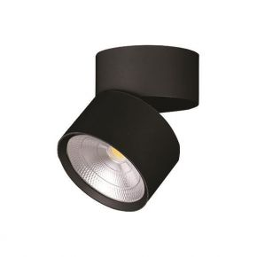 Eurolamp Φωτιστικό Κινητό Οροφής Κύλινδρος LED 15W 4000K Plus