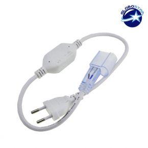 Connector 230 Volt για NEON FLEX με καλώδιο και Πρίζα