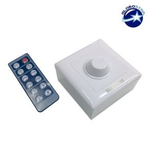 LED Dimmer Τοίχου 12-24 Volt με IR Control 192-384 Watt