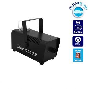 Επαγγελματική Μηχανή Καπνού 400W 230V 1L με Ενσύρματο Χειριστήριο GloboStar 51143