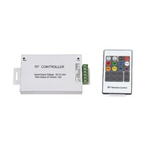 SL LED RGB Controller με Τηλεχειριστήριο RF 12A