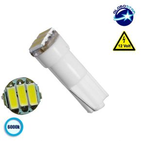 Λαμπτήρας LED T5 3 SMD 4014 Ψυχρό Λευκό 6000k GloboStar 81036