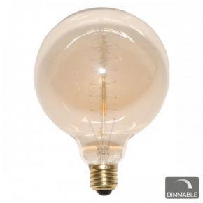 SL Λάμπα 60W Edison Vintage Πυράκτωσης ø125mm E27 Dimmable