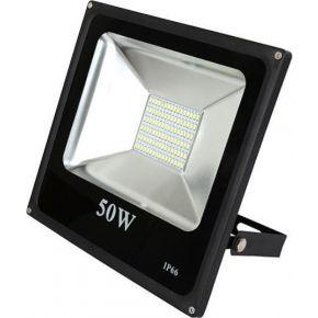 SL LED Λεπτός Προβολέας SMD 50W Epistar IP66