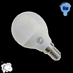 Γλομπάκι LED G45 με βάση E14 GloboStar 6 Watt 230v Ψυχρό