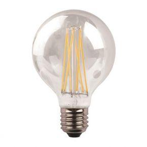 Eurolamp LED Γλόμπος G95 Crossed Filament 11W Ε27 6500K 220-240V Dimmable Clear
