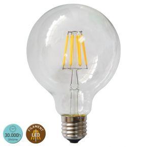 SL LED Λάμπα 8W E27 G95 360° Filament Glass