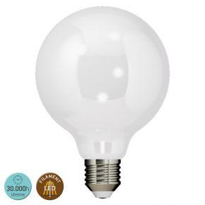 SL LED Λάμπα 8W E27 G125 360° Filament