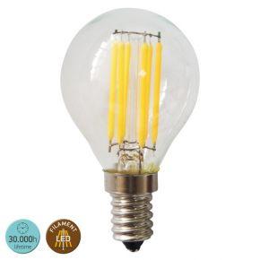 SL LED Λάμπα 6W E14 G45 360° Filament Glass