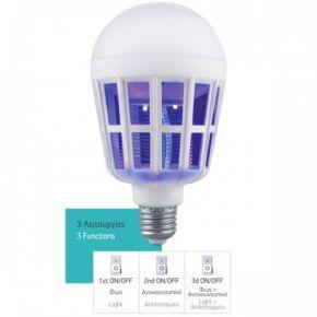SL LED Λάμπα E27 10W Αντικουνουπική