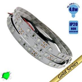 Ταινία LED 4.8 Watt 12 Volt Πράσινο IP20