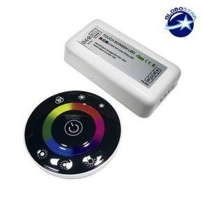 Controller RGB 2.4G Round 12-24 Volt DC