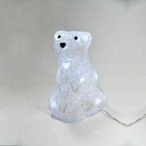 Eurolamp Ακρυλική Αρκούδα με 16 LED 3D IP44
