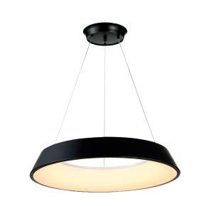 InLight Κρεμαστό φωτιστικό από μαύρο μέταλλο και ακρυλικό (6010-Α)