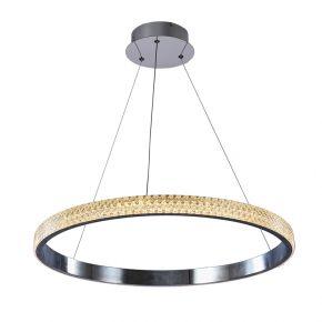 InLight Κρεμαστό φωτιστικό από χρώμιο αλουμίνιο και ακρυλικό (6033-B-CH)