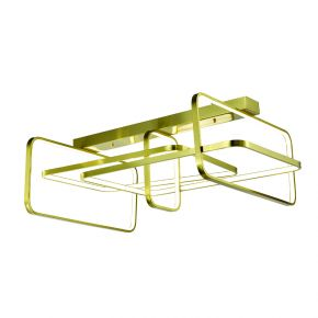 InLight Φωτιστικό οροφής από χρυσαφί αλουμίνιο (6178-Α-Χρυσαφί)