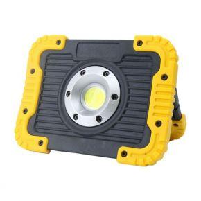 SL Φορητός LED Προβολέας Εργασίας Με Μπαταρίες 10W COB IP65