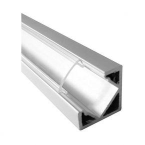 SL Ψύκτρα Αλουμινίου Κάλυμμα Διάφανο Πλαστικό 25.7mm