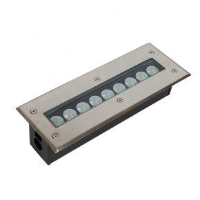 VK Χωνευτός LED Γραμμικός Προβολέας 9W