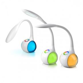 SL Φωτιστικό LED Γραφείου 5.5W Dimmable RGB Με Κουμπί Αφής