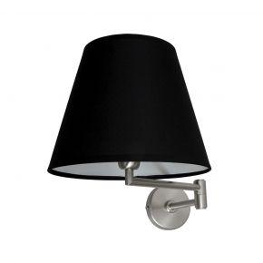 VK Απλίκα Τοίχου Με Άρθρωση 42W & 1W LED E27 Μεταλλική IP20