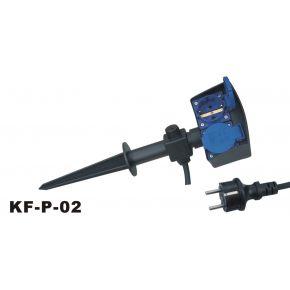 Spotlight Πολύπριζο Water Proof IP44