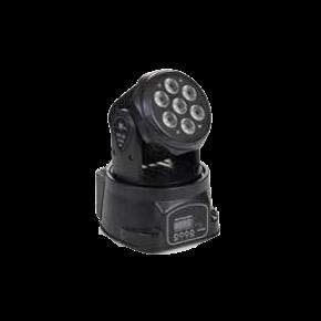 Spacelights LED Κινητή Κεφαλή Baby Wash 7x12W