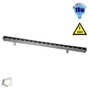 LED Wall Washer 18 Watt 50cm 220v Λευκό Ημέρας