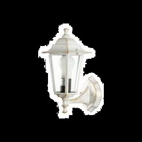 SL LED Φανάρι Επιτοίχιο Ε27 Upturn Μικρό Εξάγωνο Αλουμινίου IP44