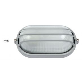 SL LED Απλίκα Τοίχου E27 Αλουμινίου με Ράγες 192x106mm IP44