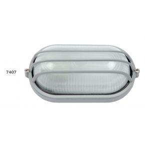 SL LED Απλίκα Τοίχου E27 Αλουμινίου 192x106mm IP44