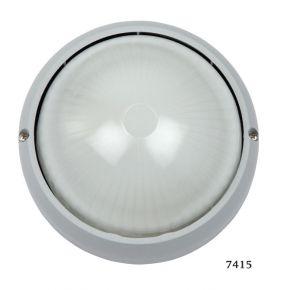 SL LED Απλίκα Τοίχου E27 Αλουμινίου Στρογγυλή ø90 IP44