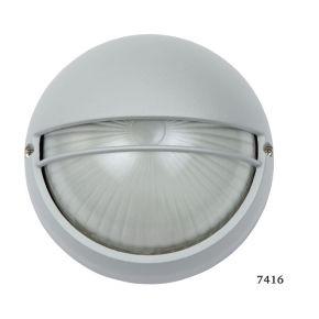 SL LED Απλίκα Τοίχου E27 Αλουμινίου Στρογγυλή με Κάλυμμα ø90 IP44
