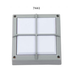SL LED Απλίκα Τοίχου GX53 Αλουμινίου Τετράγωνη Ράγες 145x145 IP54