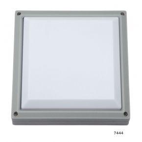 SL LED Απλίκα Τοίχου E27 Αλουμινίου Τετράγωνη 270x270 IP54