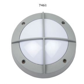 SL LED Απλίκα Τοίχου GX53 Αλουμινίου Στρογγυλή ø145 Ράγες IP54