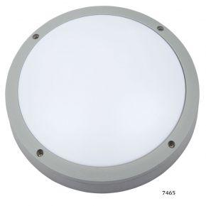 SL LED Απλίκα Τοίχου E27 Αλουμινίου Στρογγυλή ø275 IP54