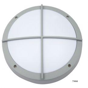 SL LED Απλίκα Τοίχου E27 Αλουμινίου Στρογγυλή ø275 Ράγες IP54