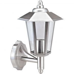 VK LED Κήπου 60W E27 IP44 Stainless Steel UP