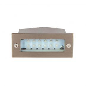 VK LED Χωνευτή Απλίκα Τοίχου 0.6W