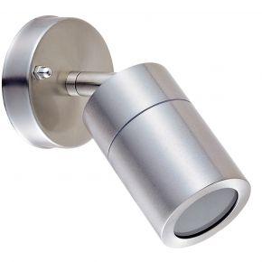 VK LED Spot Τοίχου GU10 IP44 Stainless Steel
