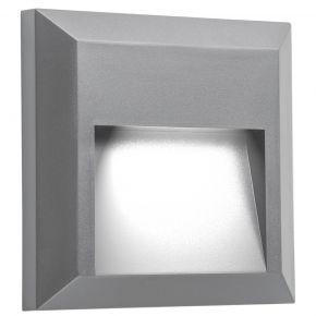 VK LED Απλίκα Τοίχου 1W Τετράγωνο