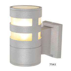 SL LED Απλίκα Τοίχου E27 IP44 Στρογγυλή Οριζόντιες Ράγες