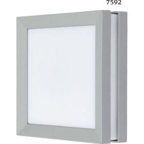 SL LED Απλίκα Τοίχου GX53 Αλουμινίου Τετράγωνη IP54