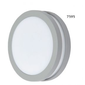 SL LED Απλίκα Τοίχου GX53 Αλουμινίου Στρογγυλή IP54